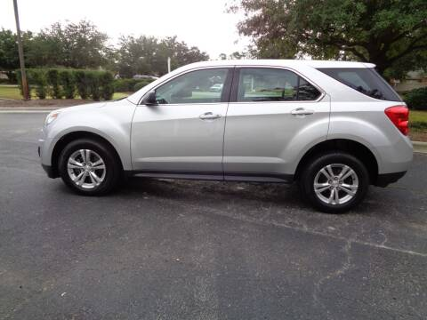 2014 Chevrolet Equinox for sale at BALKCUM AUTO INC in Wilmington NC