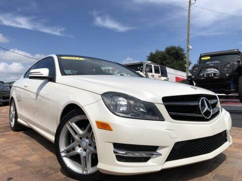 2013 Mercedes-Benz C-Class for sale at Cars of Tampa in Tampa FL