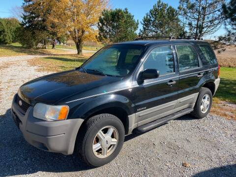 2002 Ford Escape for sale at AutoWorx Sales in Columbia City IN