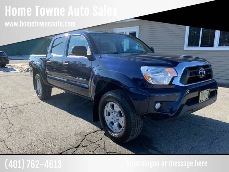 2012 Toyota Tacoma for sale at Home Towne Auto Sales in North Smithfield RI