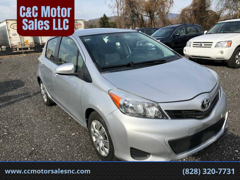 2013 Toyota Yaris for sale at C&C Motor Sales LLC in Hudson NC