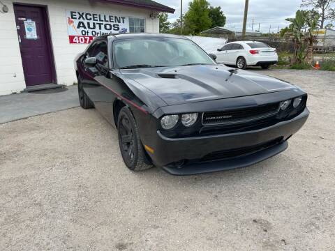 2011 Dodge Challenger for sale at Excellent Autos of Orlando in Orlando FL
