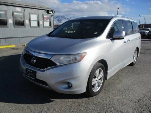 2012 Nissan Quest for sale at Central Auto in South Salt Lake UT