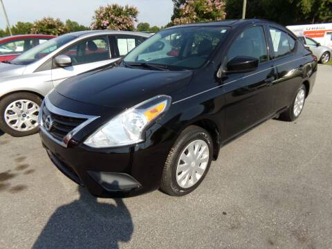 2016 Nissan Versa for sale at Creech Auto Sales in Garner NC