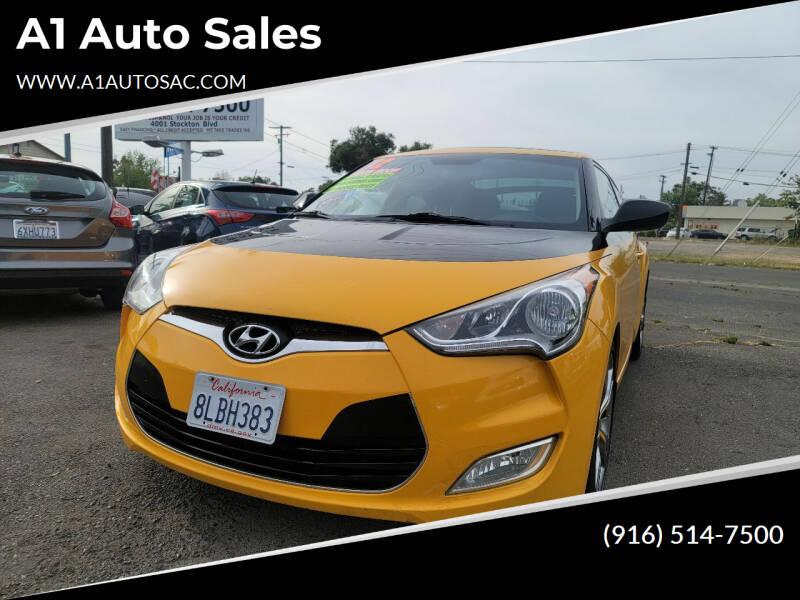 2012 Hyundai Veloster for sale at A1 Auto Sales in Sacramento CA