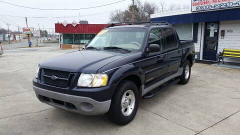 2001 Ford Explorer Sport Trac for sale at West Elm Motors in Graham NC