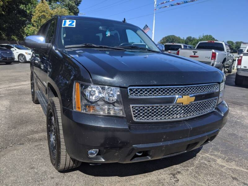 2012 Chevrolet Tahoe for sale at GREAT DEALS ON WHEELS in Michigan City IN