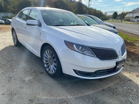 2014 Lincoln MKS for sale at Wright's Auto Sales LLC in Townshend VT