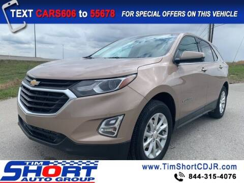 2018 Chevrolet Equinox for sale at Tim Short Chrysler in Morehead KY