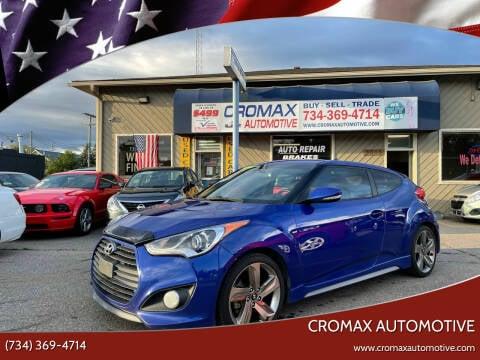 2015 Hyundai Veloster for sale at Cromax Automotive in Ann Arbor MI