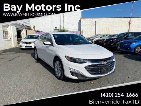 2019 Chevrolet Malibu for sale at Bay Motors Inc in Baltimore MD