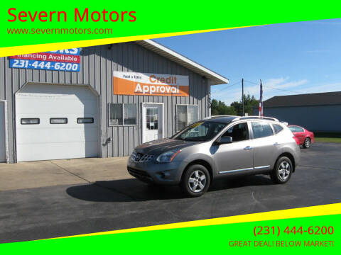 2011 Nissan Rogue for sale at Severn Motors in Cadillac MI