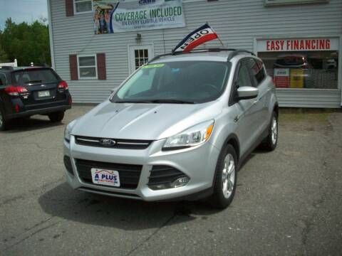 2016 Ford Escape for sale at A-Plus Motors in Alton ME