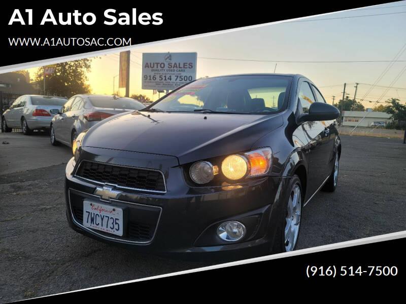 2014 Chevrolet Sonic for sale at A1 Auto Sales in Sacramento CA