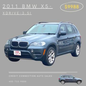2011 BMW X5 for sale at Credit Connection Auto Sales in Midwest City OK