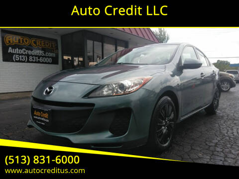 2013 Mazda MAZDA3 for sale at Auto Credit LLC in Milford OH