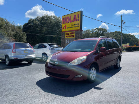 2010 Toyota Sienna for sale at No Full Coverage Auto Sales in Austell GA