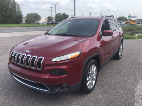 2016 Jeep Cherokee for sale at Reliable Motor Broker INC in Tampa FL