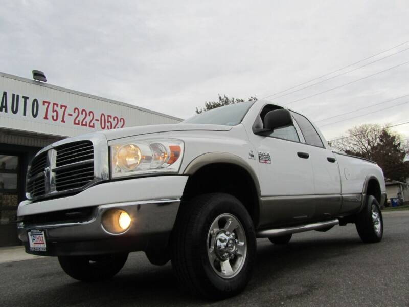 2008 Dodge Ram Pickup 2500 for sale at Trimax Auto Group in Norfolk VA
