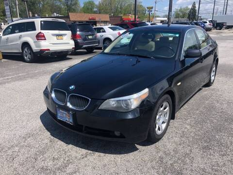 2004 BMW 5 Series for sale at MR Auto Sales Inc. in Eastlake OH