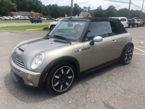2007 MINI Cooper for sale at CVC AUTO SALES in Durham NC