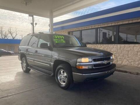 2001 Chevrolet Tahoe for sale at CAR SOURCE OKC in Oklahoma City OK