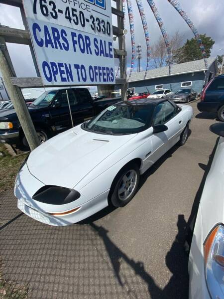 1997 Chevrolet Camaro for sale at Engels Autos Inc in Ramsey MN