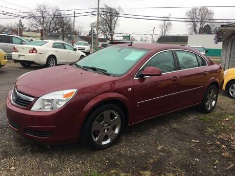 2007 Saturn Aura for sale at Antique Motors in Plymouth IN