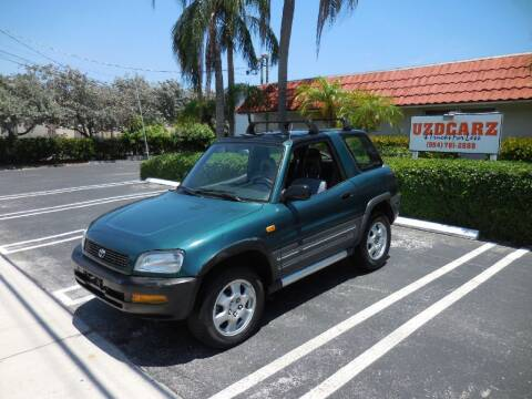1996 Toyota RAV4 for sale at Uzdcarz Inc. in Pompano Beach FL