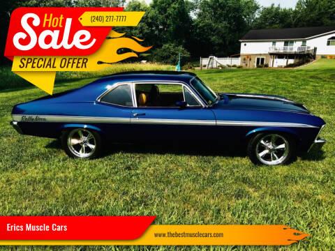 1972 Chevrolet Nova for sale at Erics Muscle Cars in Clarksburg MD