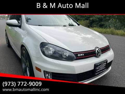 2012 Volkswagen GTI for sale at B & M Auto Mall in Clifton NJ