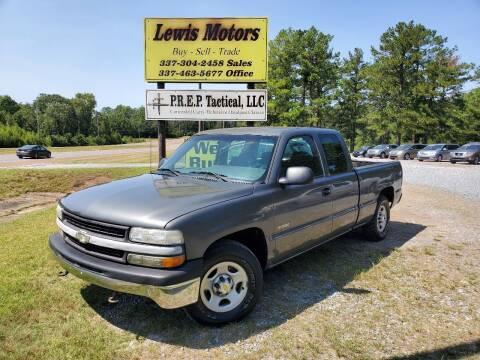 2002 Chevrolet Silverado 1500 for sale at Lewis Motors LLC in Deridder LA