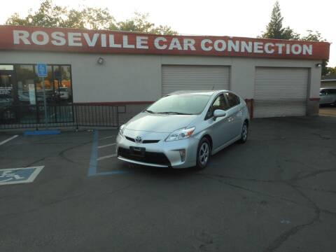 2015 Toyota Prius for sale at ROSEVILLE CAR CONNECTION in Roseville CA