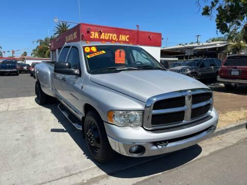 2004 Dodge Ram Pickup 3500 for sale at 3K Auto in Escondido CA