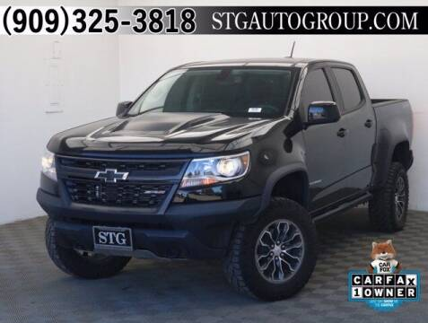 2018 Chevrolet Colorado for sale at STG Auto Group in Montclair CA