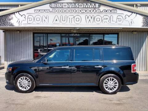 2016 Ford Flex for sale at Don Auto World in Houston TX