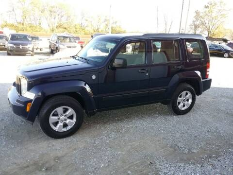 2012 Jeep Liberty for sale at MIKE'S CYCLE & AUTO in Connersville IN