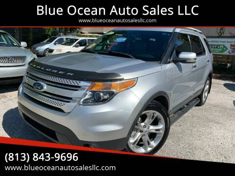 2012 Ford Explorer for sale at Blue Ocean Auto Sales LLC in Tampa FL