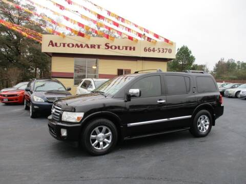 2005 Infiniti QX56 for sale at Automart South in Alabaster AL