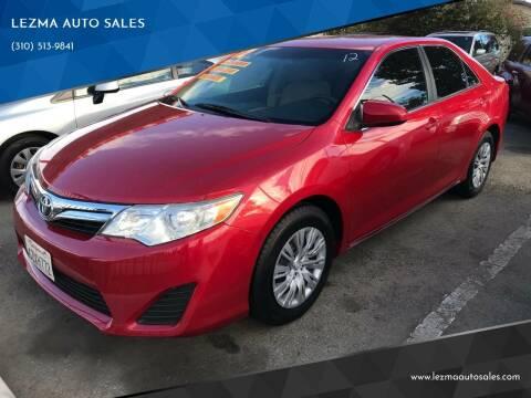 2012 Toyota Camry for sale at Auto Emporium in Wilmington CA