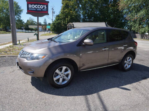 2010 Nissan Murano for sale at Colonial Motors in Mine Hill NJ