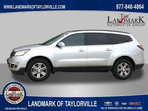 2017 Chevrolet Traverse for sale at LANDMARK OF TAYLORVILLE in Taylorville IL