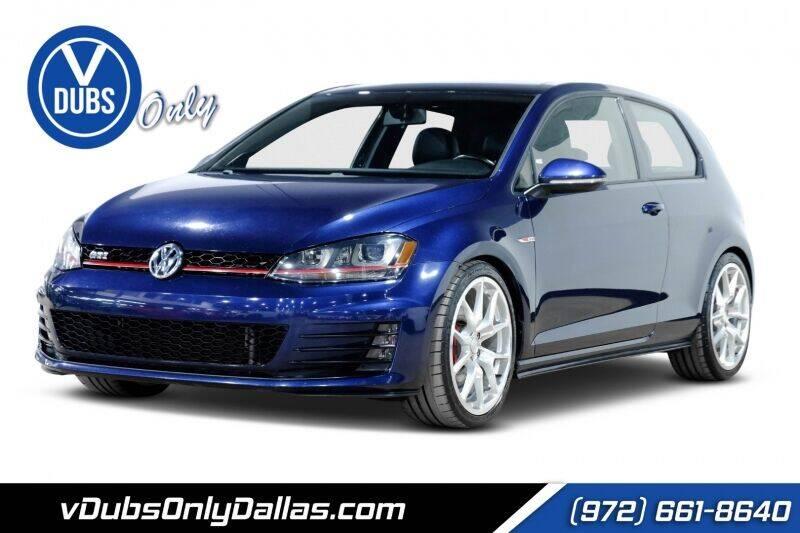 2015 Volkswagen Golf GTI for sale in Dallas, TX