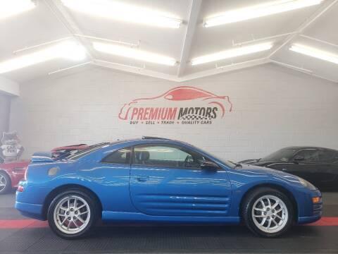 2002 Mitsubishi Eclipse for sale at Premium Motors in Villa Park IL