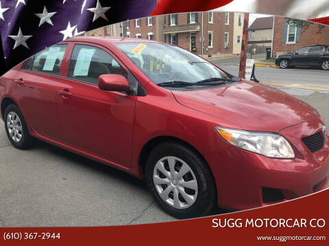2010 Toyota Corolla for sale at Sugg Motorcar Co in Boyertown PA