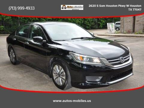 2013 Honda Accord for sale at AUTOS-MOBILES in Houston TX