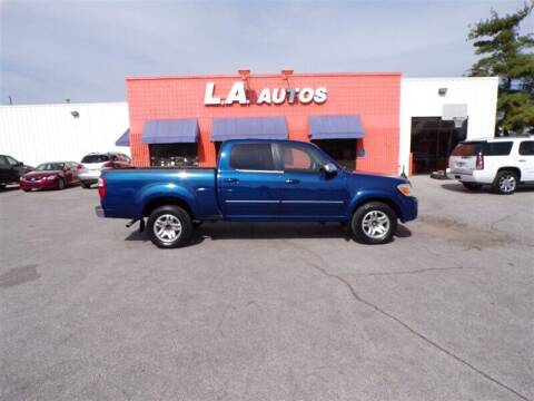 2005 Toyota Tundra for sale at L A AUTOS in Omaha NE