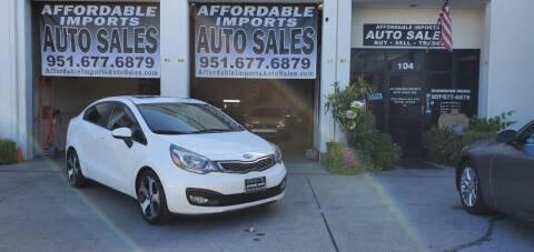 2012 Kia Rio for sale at Affordable Imports Auto Sales in Murrieta CA