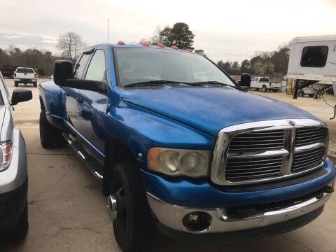 2003 Dodge Ram Pickup 3500 for sale at Ramsey Truck Sales LLC in Benton AR