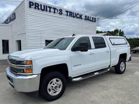 2018 Chevrolet Silverado 2500HD for sale at Pruitt's Truck Sales in Marietta GA